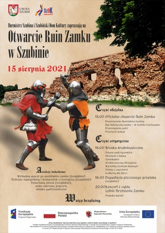 Galeria dla Otwarcie Ruin Zamku w Szubinie