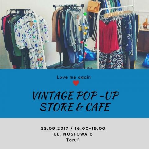 Galeria dla Mostowa 6, czyli vintage pop-up store&cafe