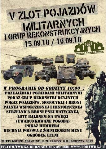 Galeria dla V Zlot Pojazdów Militarnych i Grup Rekonstrukcyjnych