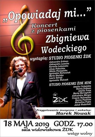 Galeria dla Koncert z piosenkami Zbigniewa Wodeckiego