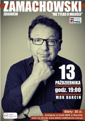 """Galeria dla Recital Zbigniewa Zamachowskiego """"Nie tylko o miłości""""."""